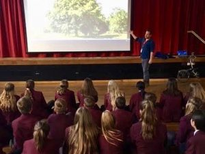 QEGS Climate Week – The Power of Trees Assembly & Tree planting